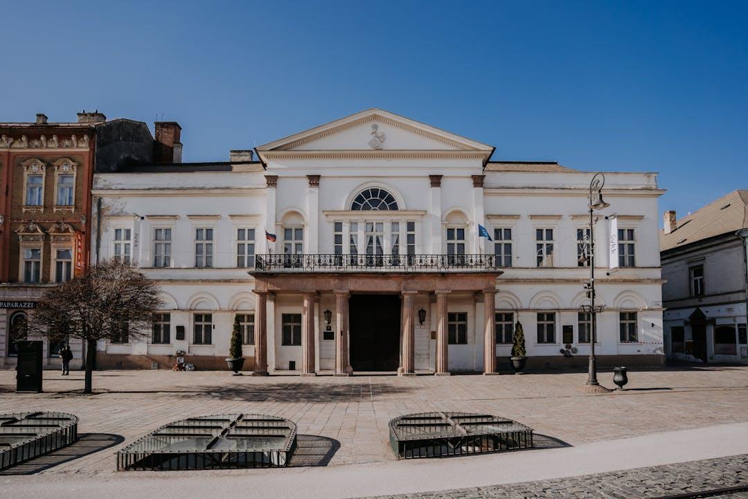 Fotografia Štátnej vedeckej knižnice v Košiciach